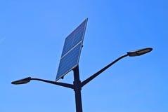 Солнечный уличный свет Стоковые Изображения RF