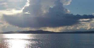 Солнечный шторм Стоковое Фото