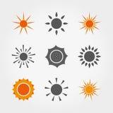 солнца иллюстрация штока