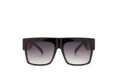 Солнцезащитные очки белизна изолированная предпосылкой Стоковые Фото