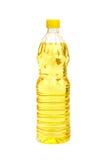 солнцецвет масла бутылки Стоковое Фото