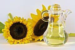 солнцецвет масла падения стилизованный Стоковое Изображение RF