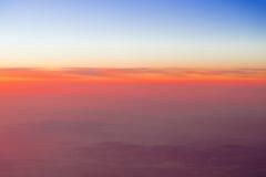 Солнце высокое в небе Стоковые Изображения RF