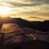 Солнце в утре Стоковое Фото
