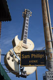 Солнце записывает студию раскрытую пионером Сэм Phillips рок-н-ролл в Мемфисе Теннесси США Стоковое Фото