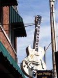 Солнце записывает студию раскрытую пионером Сэм Phillips рок-н-ролл в Мемфисе Теннесси США Стоковое фото RF