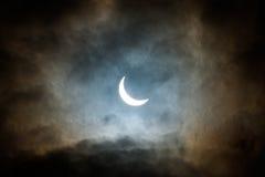 солнце затмения частично Стоковые Фотографии RF