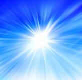 Солнце и небо Стоковые Изображения