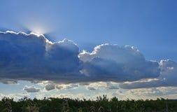 Солнце и небо Стоковые Фото