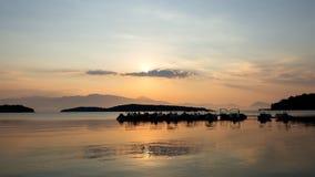 Солнце и облако - лефкас Стоковое Изображение