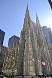 Солнце и тени на соборе St. Patrick Стоковые Изображения