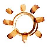 Солнце кофе Стоковое Фото