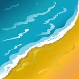солнце моря луча fiords предпосылки Стоковое Фото