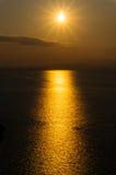 солнце моря элемента конструкции Стоковое Изображение RF