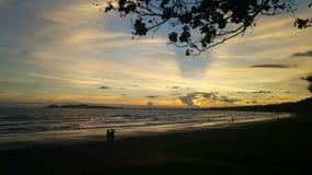 солнце моря элемента конструкции стоковая фотография