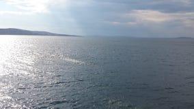 солнце моря элемента конструкции Стоковое фото RF