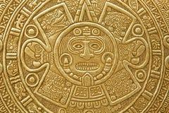 солнце орнамента языческое каменное Стоковое Изображение