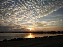 Солнце до свидания Стоковое Изображение