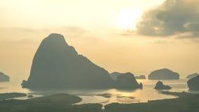 Солнце поднимает на зоре Стоковая Фотография RF