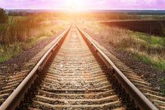 солнце путя к Стоковые Изображения RF
