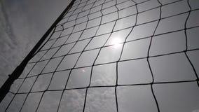 Солнце через сеть Стоковые Фото