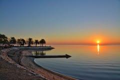 Солнце Эльа-Хубар золотое Стоковые Фото
