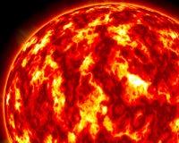 Солнце b Стоковое Изображение