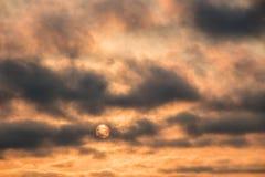 Солнце Layover Стоковое Изображение