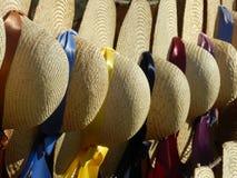 Соломенные шляпы Стоковая Фотография