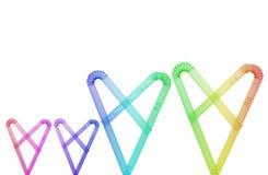 Соломы радуги Стоковая Фотография RF