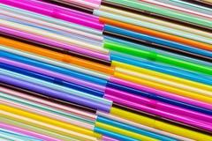 Соломы цвета Стоковое Фото
