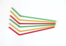 Соломы для коктеилей Стоковое Изображение