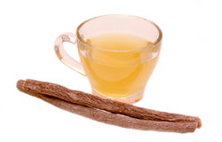 Солодка травяного чая стоковые изображения