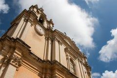Со-собор Mdina Стоковое Изображение RF