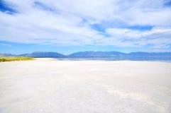 соль большого озера Стоковые Изображения