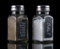 Соль и перец Стоковые Фотографии RF