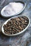 Соль и перец Стоковые Изображения