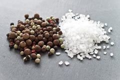 соль перца Стоковая Фотография RF