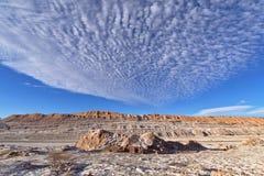 Соль, песок и утесы Стоковые Изображения RF