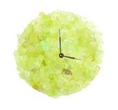 Соль спы в форме часов Стоковая Фотография RF