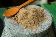 Соль с сельдереем Стоковые Фотографии RF