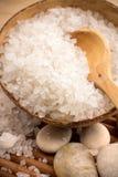 Соль для принятия ванны. стоковая фотография rf