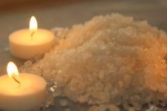 Соль для принятия ванны Стоковая Фотография