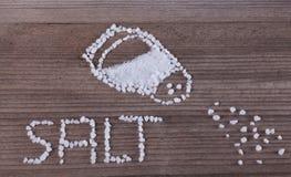 соль стоковая фотография