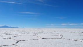 Соль Uyuni плоское Стоковые Изображения