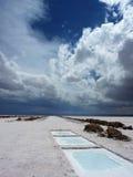 Солёная пустыня стоковое изображение rf