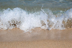 Солёные волны Стоковые Фото