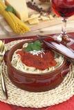 спагетти бака глины Стоковые Изображения