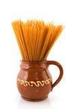 спагетти еды все Стоковые Изображения