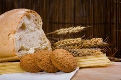 спагетти зерна печений хлеба Стоковые Изображения RF